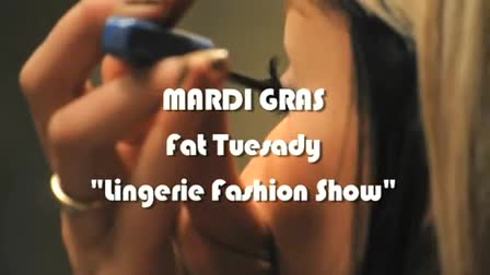 Affinity Image Fat Tuesday Lingerie Show