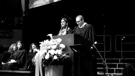 Dwyane Wade fulfills High School Graduate's Dream!