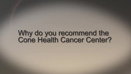 """Cone Health Cancer Center """"Sarah Squire, MD"""""""