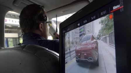 Mercedes-Benz Running Footage Behind the Scenes