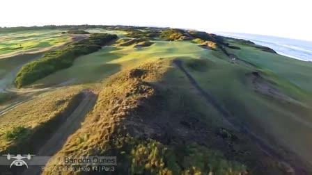 Drone Golf Show Reel
