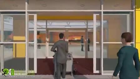Walkthrough for Karratha Airport Australia by Yantram Architectural Animation