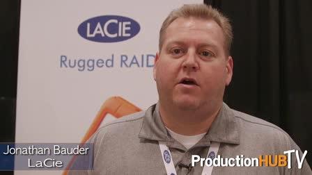 Showcasing LaCie Rugged RAID & Thunderbolt 2 Drives at PhotoPlus 2015