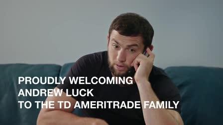 TD Ameritrade: Andrew Luck Spokesperson