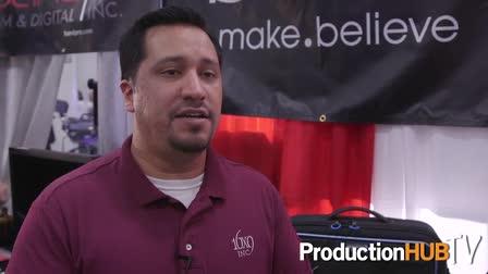 16x9 Inc. showcases Movcam Sony Alpha Camera Cage & Orca Bags at the 2015 NAB Show NY
