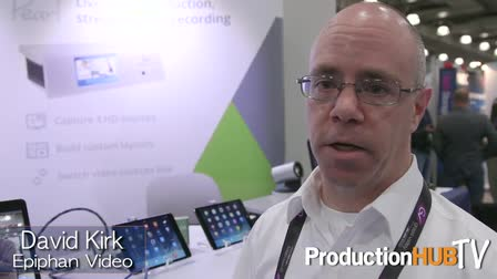 Epiphan Video Pearl at the 2015 NAB Show New York