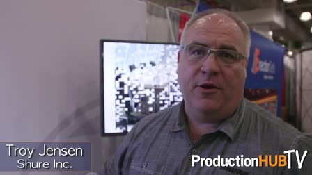 Shure Microflex Wireless at the 2015 NAB Show New York