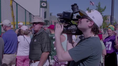 Live Streaming Packers Training Camp with Teradek Live:Air