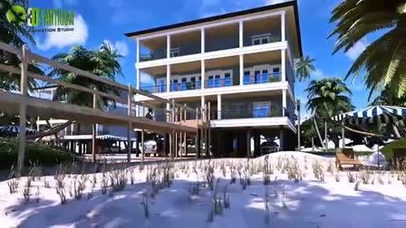 Beach House Exterior - Interior Architectural Visualization | Walkthrough Animation