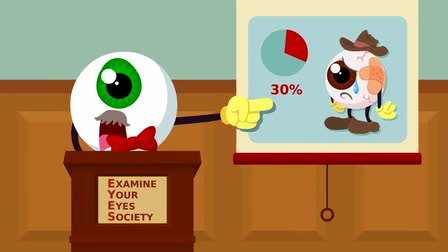 Lenscrafters: Your Eyes Matter campaign - Examine Your Eyes Society
