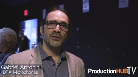 DPA Microphone's Gabriel Antonini at the 2016 Orlando Sound Summit