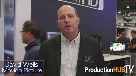 David Wells of Moving Picture Rental Talks SmallHD HDR Monitors at NAB 2016