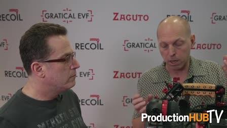 Zacuto Gratical Eye EVF at NAB 2016
