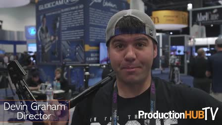 Devin Graham at the Glidecam Booth at NAB 2016