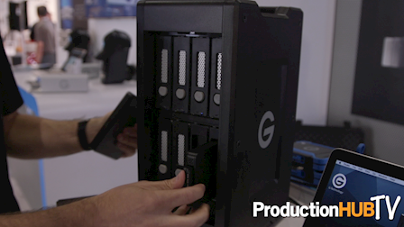 G-Technology G-SPEED Shuttle XL at Cine Gear LA 2016