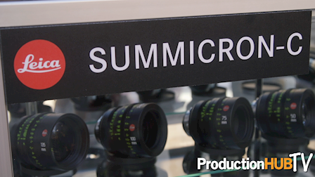 CW Sonderoptic Leica Summicron-C 40mm & 15mm at Cine Gear 2016