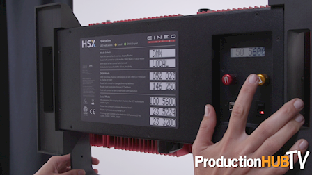 Cineo Lighting HSX at Cine Gear 2016