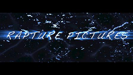 Rapture Pictures (demo: 3D motion graphics/sound design project) Studio Card.