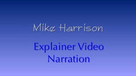 Mike Harrison Explainer Video Narration Demo