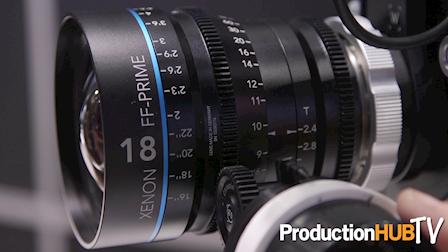 Schneider Optics Xenon FF-Prime Lenses at IBC 2016