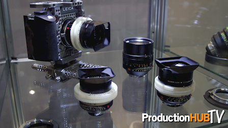 CW Sonderoptic introduces Leica M 0.8 Lenses at IBC 2016