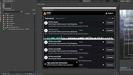 Audio Network Showcases Adobe Premiere Plug In at IBC 2016