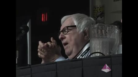 The Great Ray Bradbury at San Diego Comic Con 2007