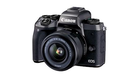 Canon Showcases EOS M5 Mirrorless Digital Camera at PhotoPlus 2016