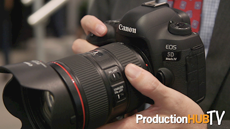 Canon brings the EOS 5D MK IV at PhotoPlus 2016