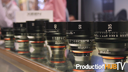 Rokinon XEEN Cine Lenses at PhotoPlus 2016