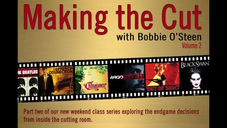 Making the Cut with Bobbie O'Steen Course Series - Promo Video
