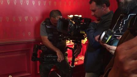 Mario Ortiz, Steadicam operator for Ruta Madre feature film