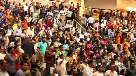 Live Broadcast of Indian Prime Minister Narendera Modi at SAP Center