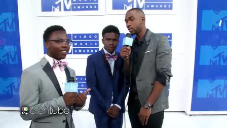 Ellen Show - MTV VMA Awards with the Running Man