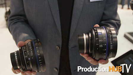 Carl Zeiss Unveils the New Compact Prime CP.3 & CP.3 XD Lenses at NAB 2017
