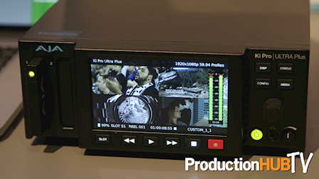 AJA Introduces Ki Pro Ultra Plus & Realtime HDR Conversion at NAB 2017