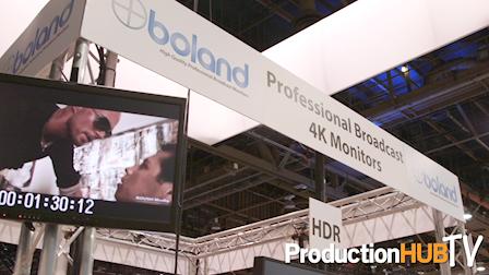Boland Communications 4K HDR Monitors at NAB 2017
