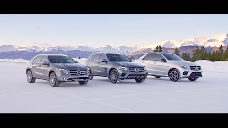Mercedes-Benz SUV Commercial