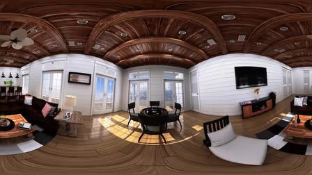 360 Degree 3D Animation Video - Interactive Virtual Reality Cardboard Video in 4K resolution