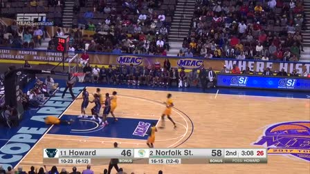 MEAC basketball tournament 2017