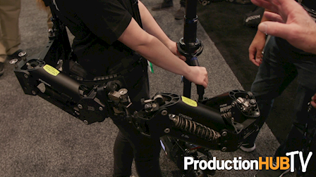 Jerry Holway Talks New 3-Section Post & Arm for the Steadicam M-1 at NAB 2017