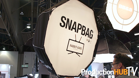 DoPchoice Expands Lineup of Snapbag Rabbit-Ears Softboxes at NAB 2017