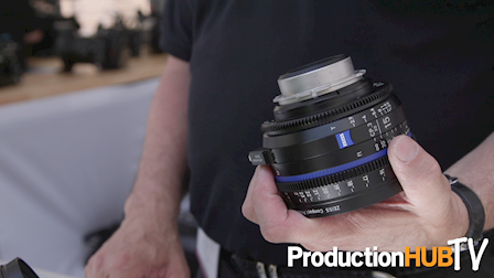 Carl Zeiss Showcases Cinema Lens Families & The New CP.3 XD Lenses at Cine Gear Expo 2017
