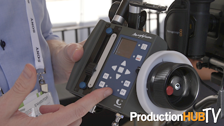 Chrosziel Demonstrates the MagNum & MagNum Mini Wireless Lens Control System at Cine Gear Expo 2017