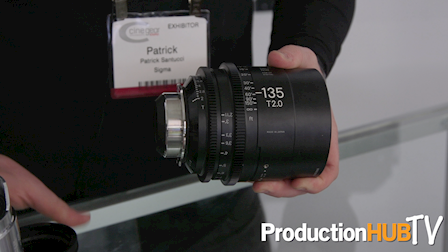 Sigma Brings Their 14mm & 135mm FF Cine Prime Lenses to Cine Gear Expo 2017