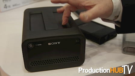 Sony Expands High Speed Storage Lineup with Enhanced Hard Disk Drives at Cine Gear Expo 2017