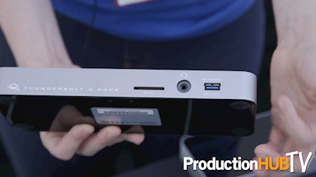 OWC Shows Off Thunderbolt 2 & 3 Docks at Cine Gear Expo 2017