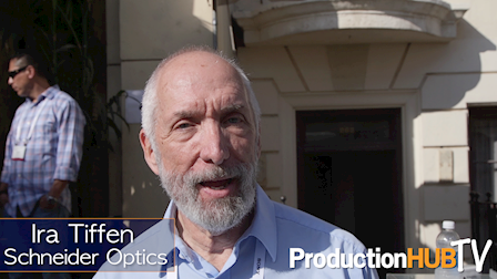 Schneider Optic's Ira Tiffen Educates On The Importance of Optical Filters at Cine Gear Expo 2017