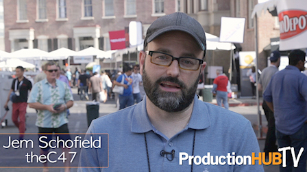 Jem Schofield of theC47 Wraps Up The 2017 Cine Gear Expo