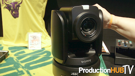 Sony Electronics Introduces the BRC-X1000 4K PTZ Camera at InfoComm 2017